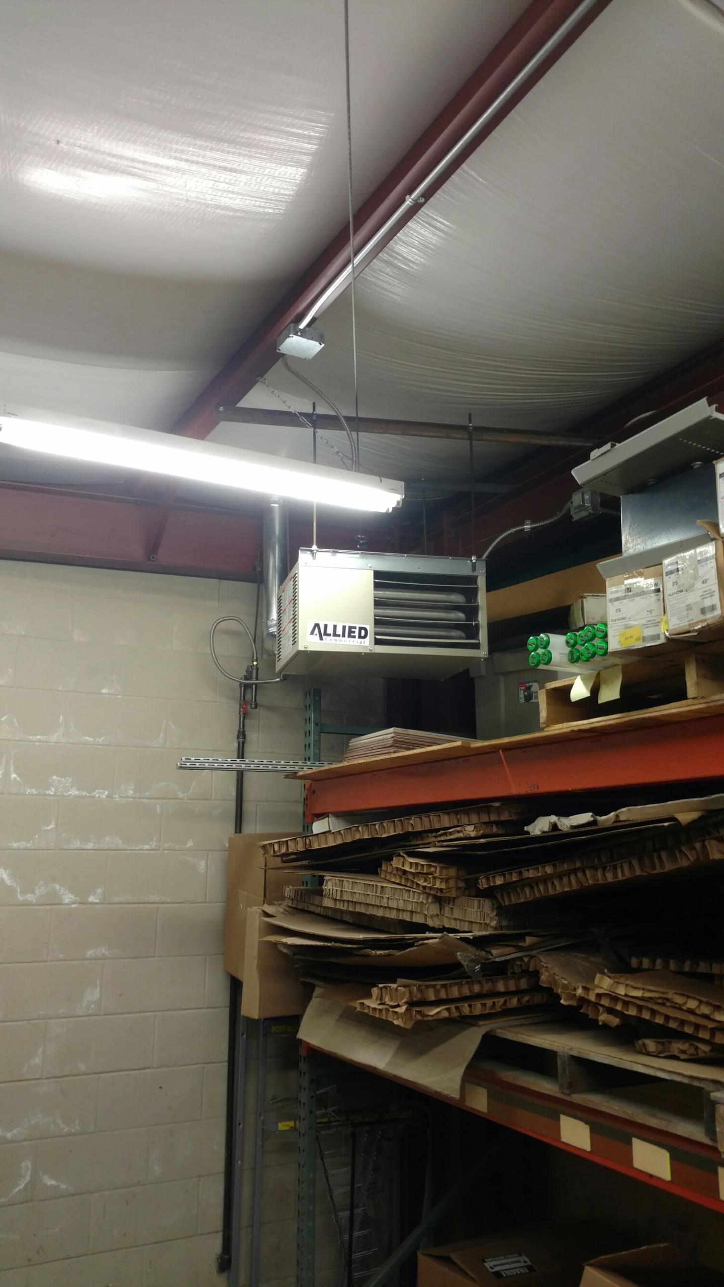 Mishawaka, IN - New unit heater