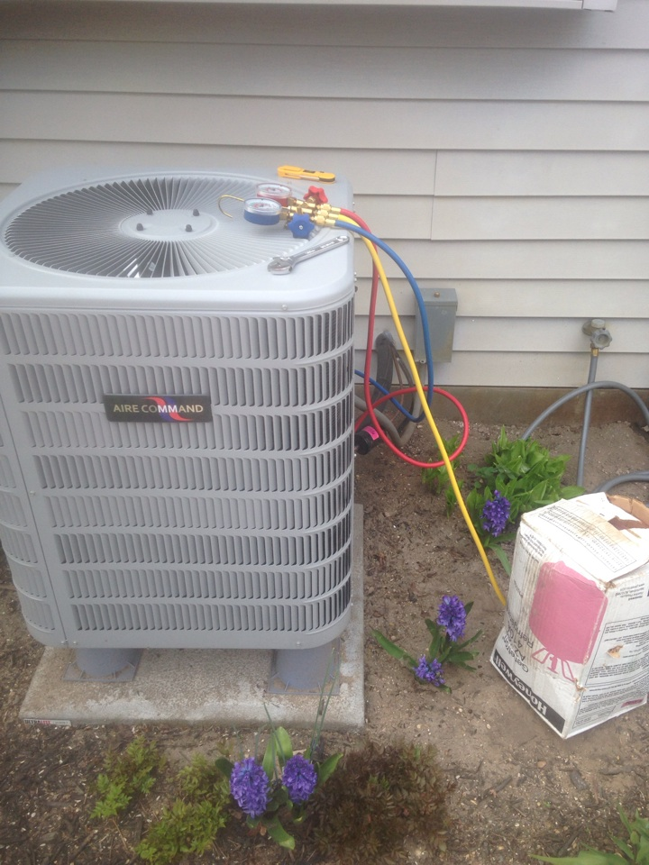 Bristol, IN - Air conditioner start up