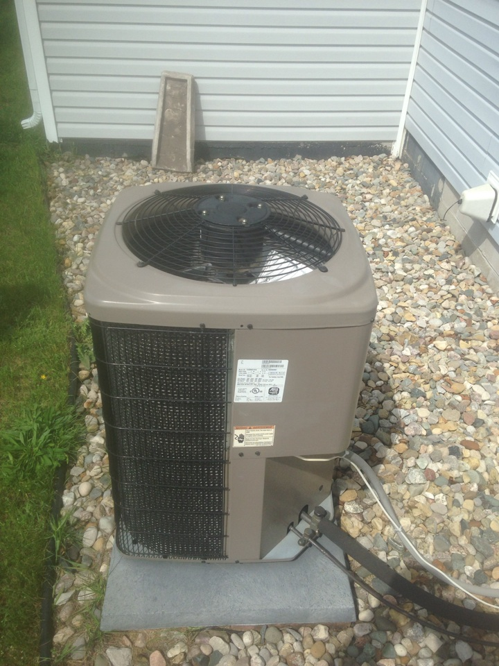 Shipshewana, IN - Air conditioner check on a York unit