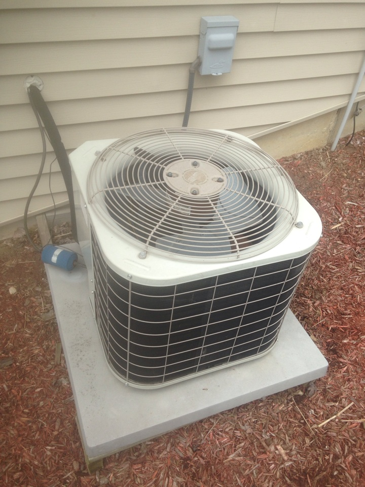 Middlebury, IN - Performed air conditioner check