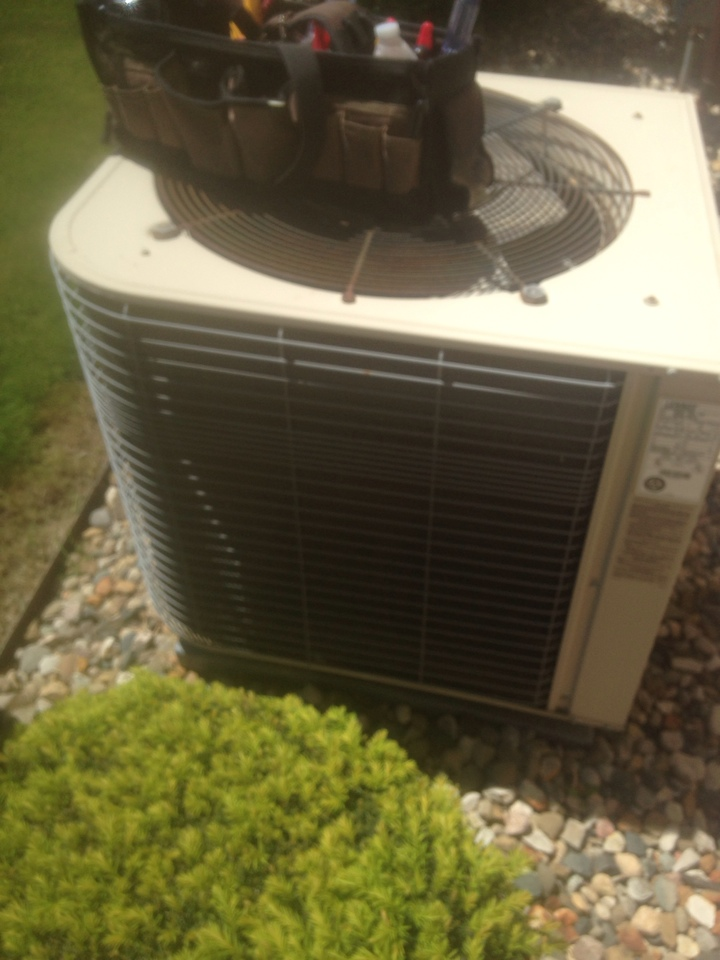 Topeka, IN - Performed air conditioner check on two units