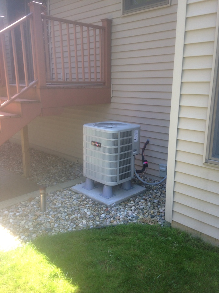 Middlebury, IN - Followed up with customer after new install