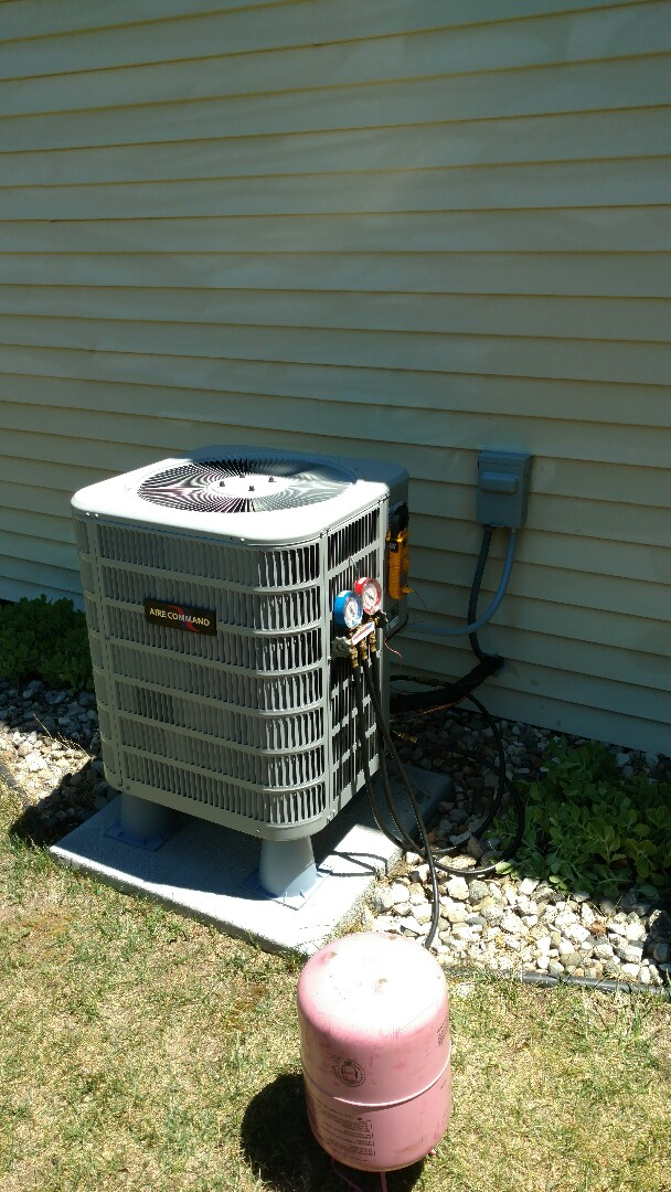 Bristol, IN - New air conditioner and furnace