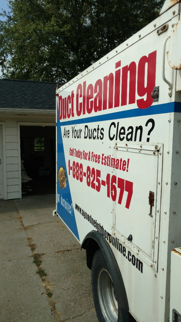 Shipshewana, IN - Air duct cleaning
