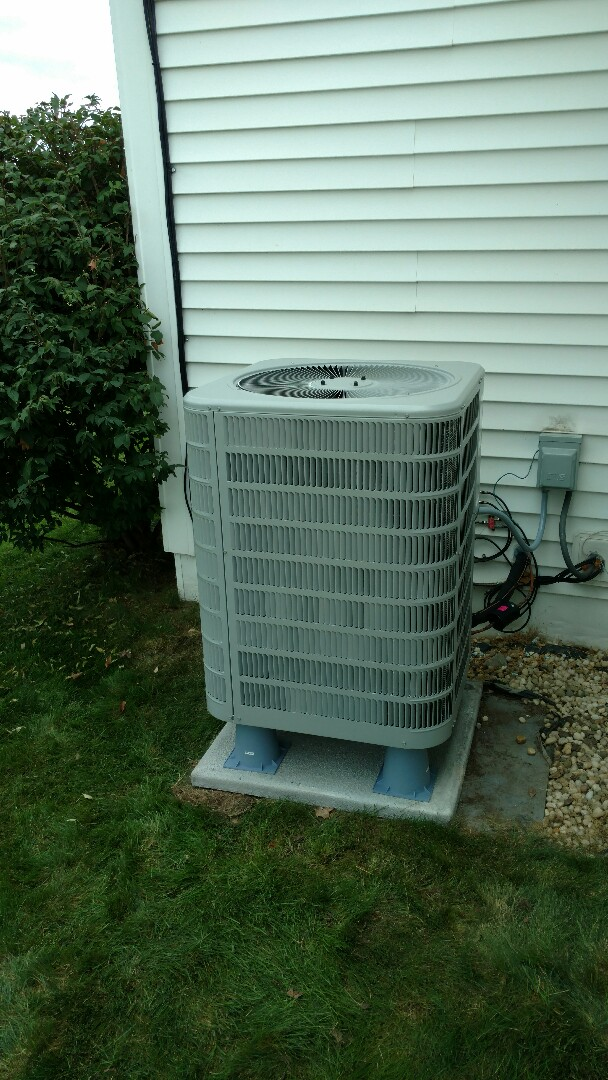 Shipshewana, IN - New furnace and air conditioner