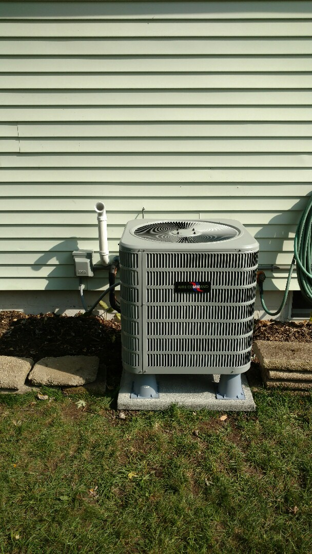 New Paris, IN - New air conditioner and furnace