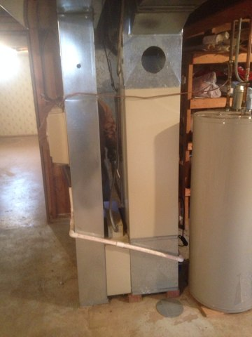 Constantine, MI - Cleaning air ducts and replacing air handler and heat pump with air command equipment