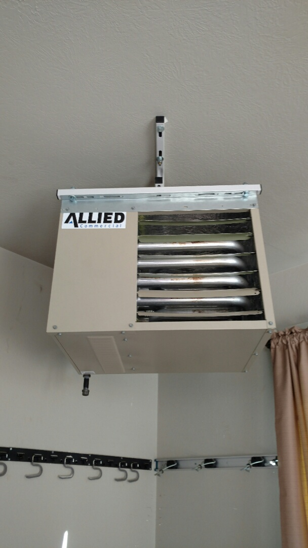 Middlebury, IN - Unit heater