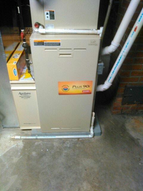 Goshen, IN - Bryant club furnace check