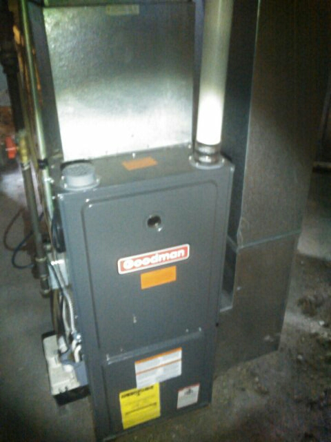 Elkhart, IN - Goodman furnace check