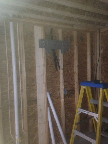 Syracuse, IN - Installing mini split systems in Polly wood