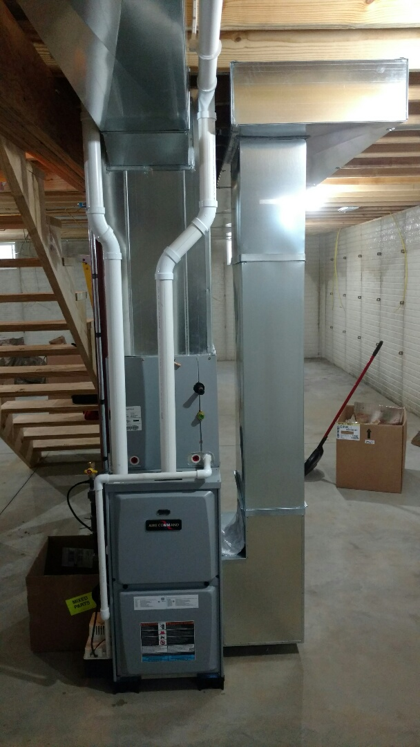 Middlebury, IN - New furnace and ductwork