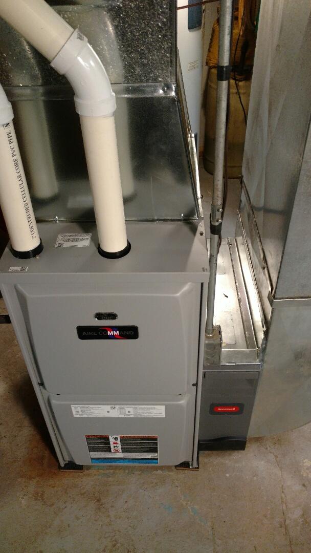 White Pigeon, MI - New furnace