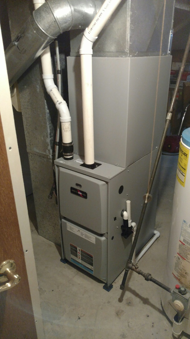 Goshen, IN - New furnace and air conditioner