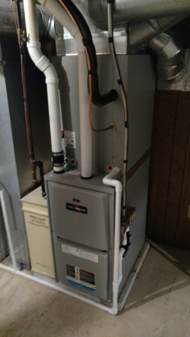 Middlebury, IN - New furnace and air conditioner