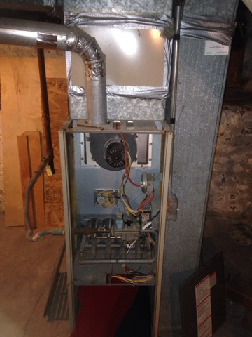 Ligonier, IN - No heat on a York furnace. Replacing system