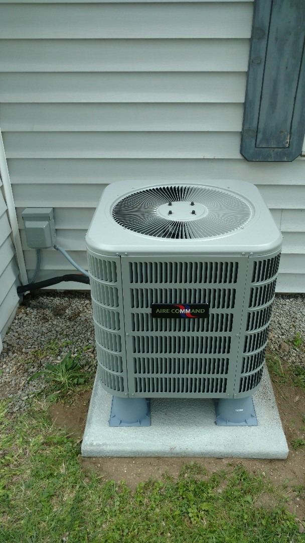 Middlebury, IN - New air conditioner and furnace