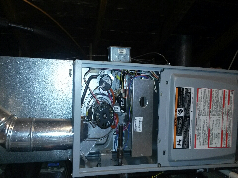 Wakarusa, IN - aire command furnace in an attic...yearly maintenance