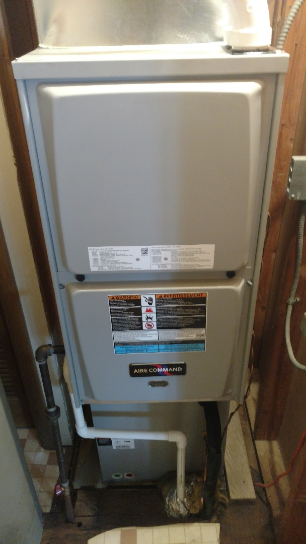 Wakarusa, IN - New furnace and air conditioner