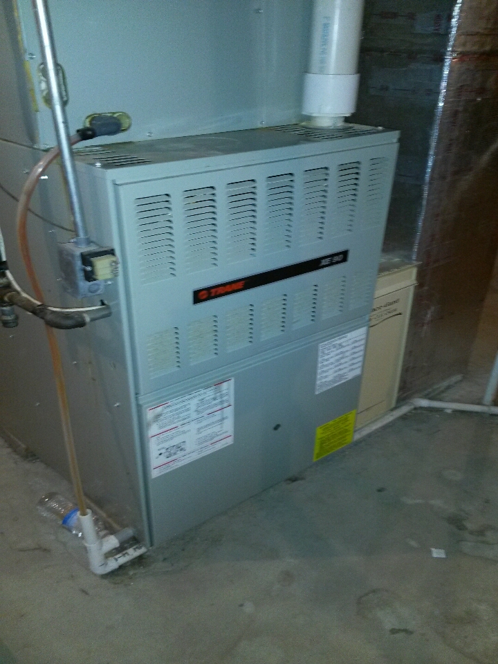 Jones, MI - trane furnace no heat