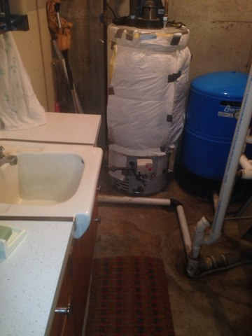 Wakarusa, IN - Repaired water heater safety
