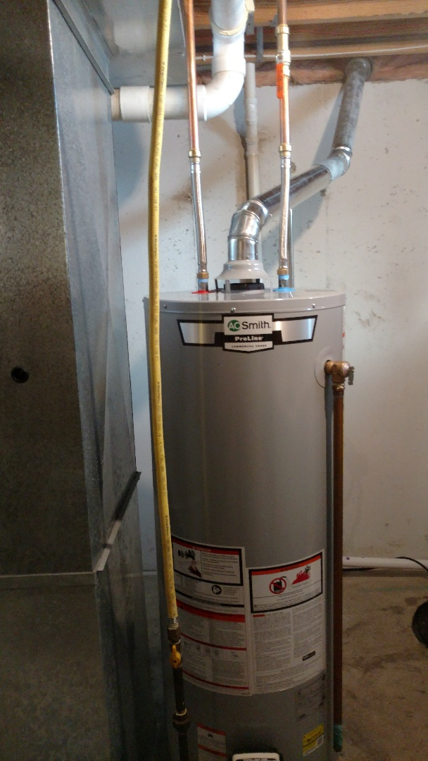 Topeka, IN - New water heater