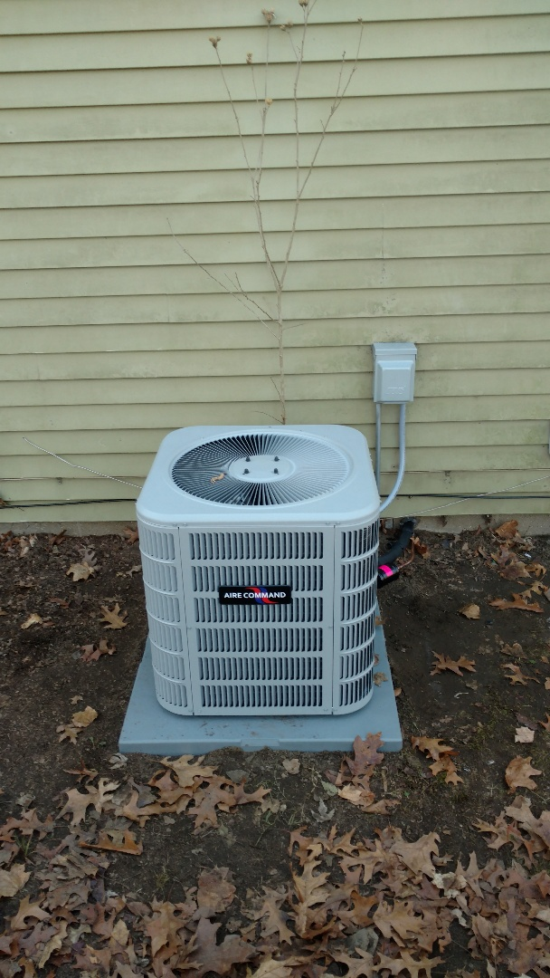 Elkhart, IN - New furnace and air conditioner