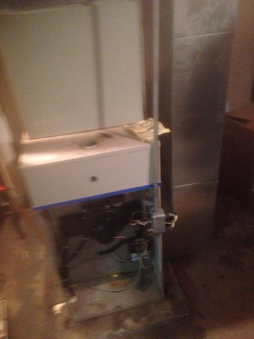 Wakarusa, IN - New furnace and condenser