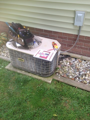 Topeka, IN - Service call on a intertherm system that the customer has been having problems with.
