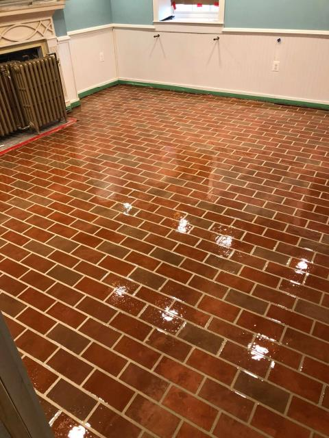 Washington, DC - Unique floors every time! Brick over lay floor with no worries of cracks, scratches, or stains!! Visit us today for more information on our systems!!!