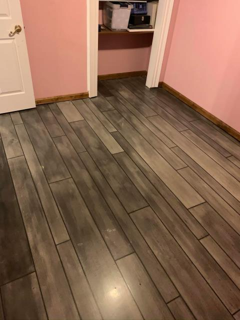 Charles Town, WV - Rustic Concrete Wood system is perfect for your child's room! This system is easy to clean, waterproof, scratch resistant and much more, leaving you with a floor that not only your child will love, but you will love too!!
