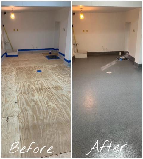 Winchester, VA - Transform any commercial kitchen with GraniFlex! Highly affordable flexible liquid rubber that protects against water leaks, slips, scratches, and stains! Contact us today to start your kitchen transformation!