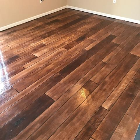 Arlington, VA - Remodeling your basement floor has never been easier and looked better! Concrete Wood transforms any floor, creating a spot for everyone to enjoy spending time together!!