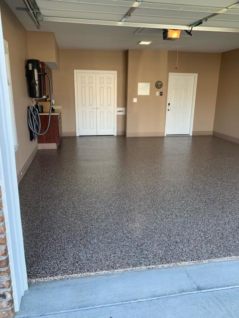 Add a bit of decor to your garage floor without compromising protection and durability! Check out all our systems today and schedule a FREE quote for your new floor in the new year!!