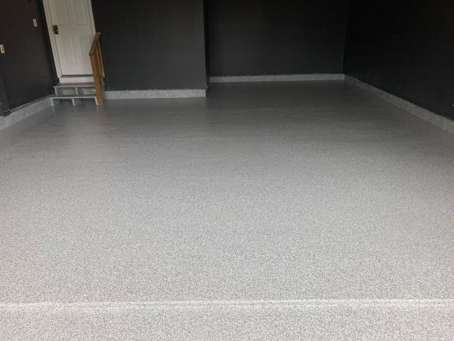 Winchester, VA - The Tailored Concrete Coatings crew is a professional, hard-working, creative team! They came out the same day we called to give us a free estimate on our concrete garage floor. We were looking at remodeling the concrete floor with durable coatings.  Dylan suggested a GRANIFLEX flake coat. He explained the benefits and process of this flooring system in detail and answered any questions we had! The result of the floor is stunning!  I'd hire them again in a minute!!!!