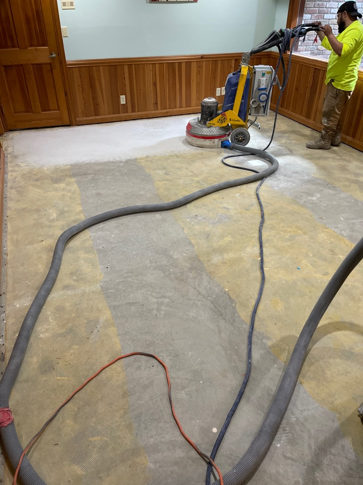 Winchester, VA - Today is prep day so we are grinding and sealing the floor. Near Winchester Virginia.