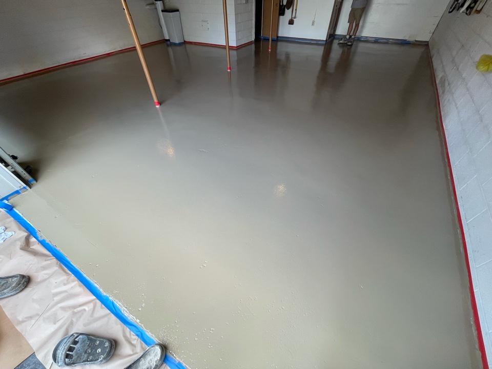Martinsburg, WV - Basecoat epoxy coating