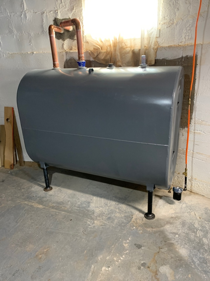 Plainville, CT - Replace oil tank