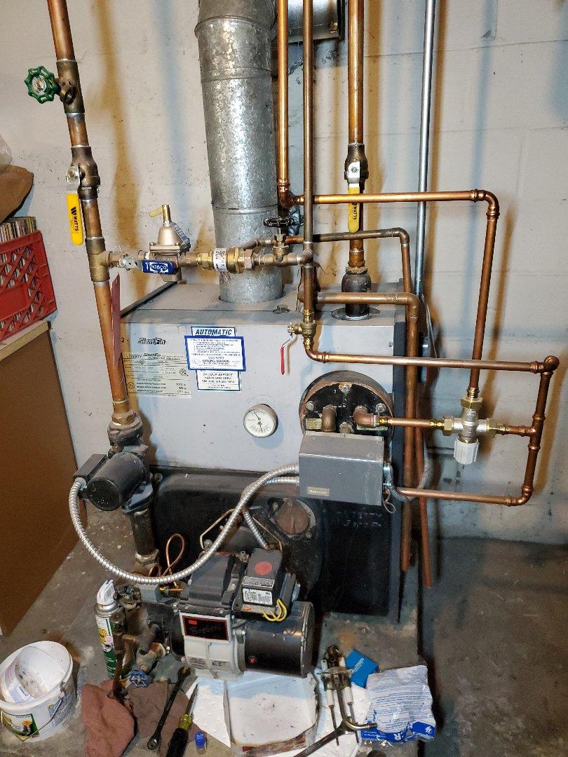 Newington, CT - Slant Fin boiler tune up