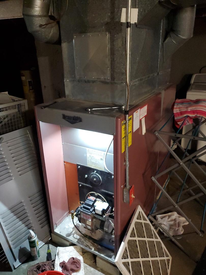 Bristol, CT - Servicing thermoPride furnace