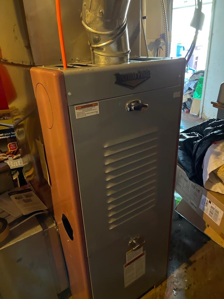 Servicing thermorpide pride furnace