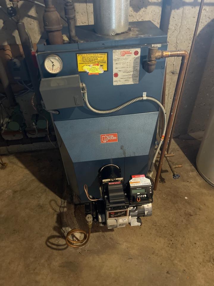 Berlin, CT - Servicing Utica boiler