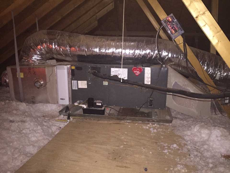 Shallowater, TX - AC service call. Check exhaust fans and system operation of zone system - Amana Goodman.