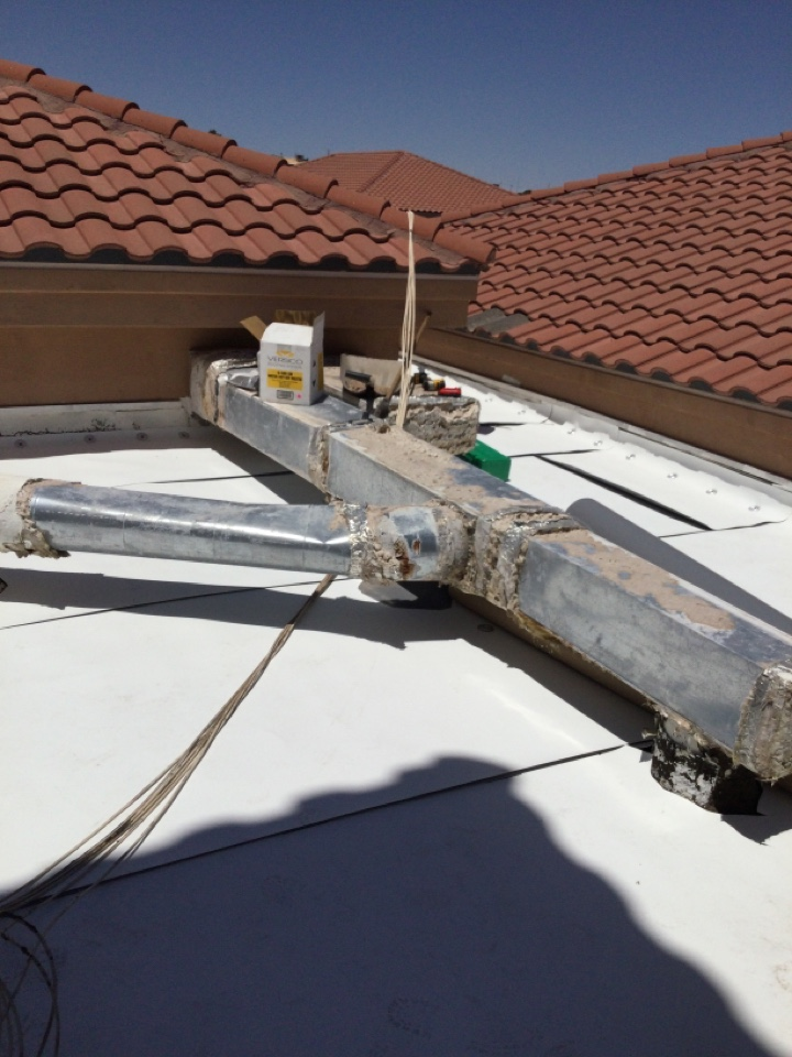 El Paso, TX - New TPO Flat Roofing system!