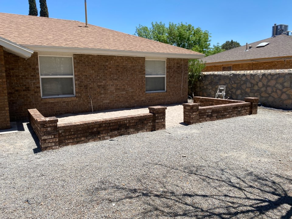 El Paso, TX - New knee wall