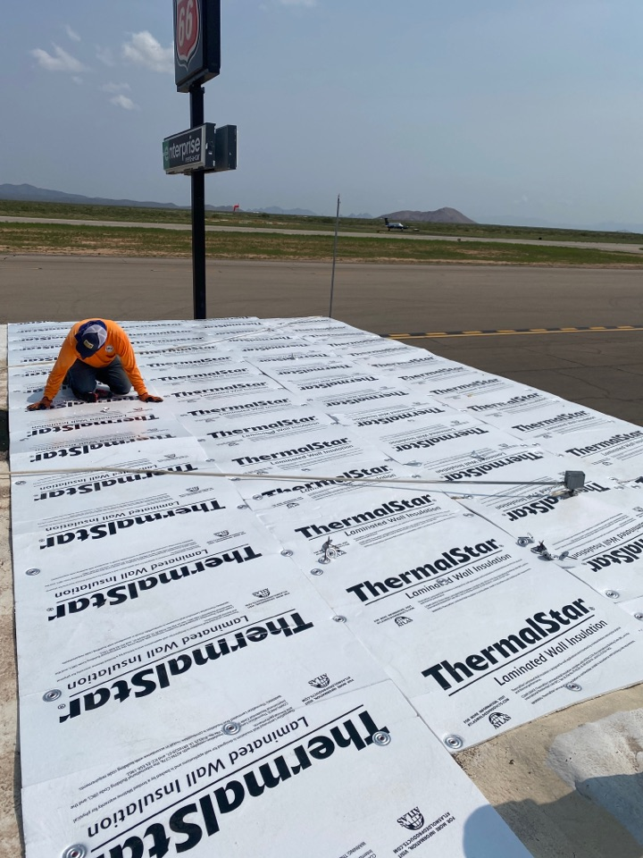 Las Cruces, NM - Thermalstar Fanfold insulation