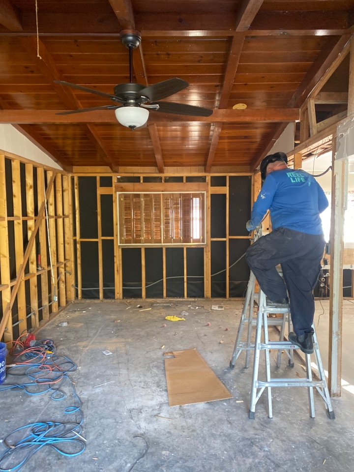 El Paso, TX - Kitchen remodeling in progress