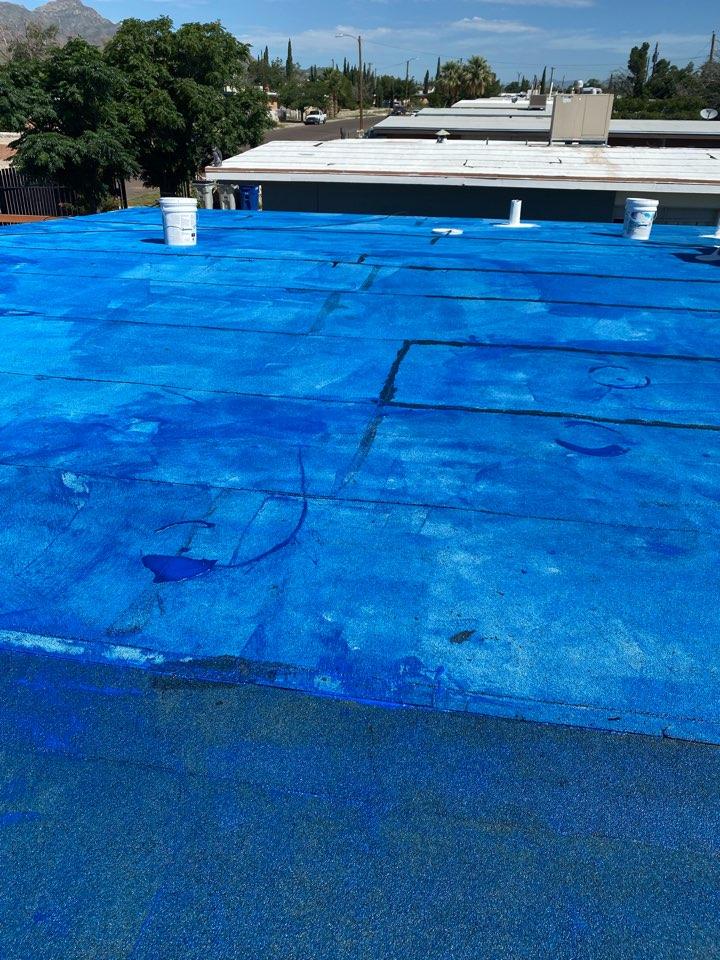 El Paso, TX - KM Mim-Prime Roof coating