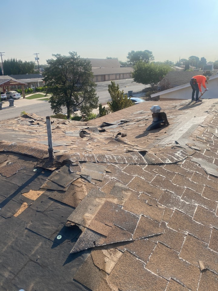 El Paso, TX - Demo roof