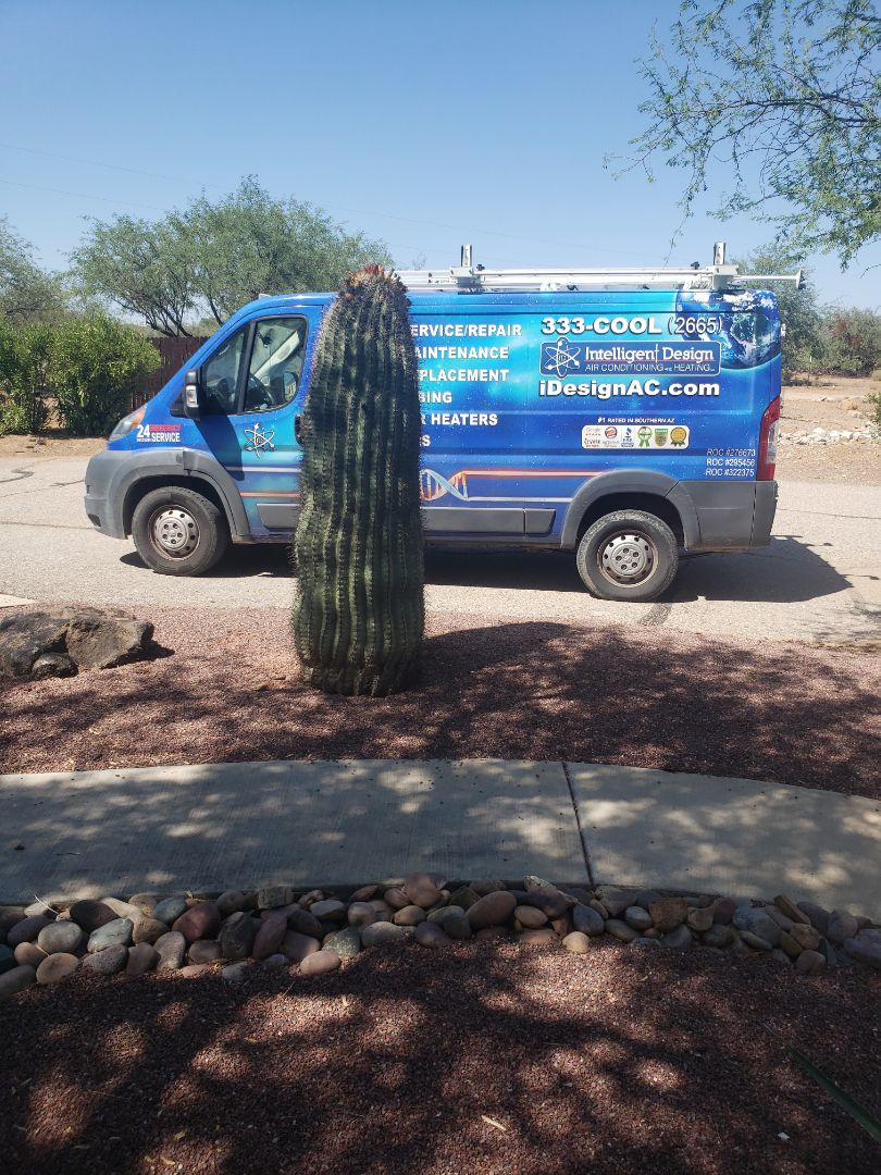 Green Valley, AZ - AC check with Intelligent Design heating and cooling HVAC furnace and air conditioner maintenance repair and replacement